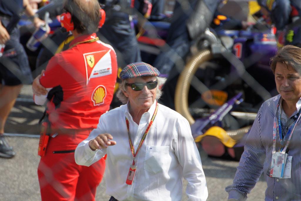 Sir John Young ,,Jackie'' Stewart, Monza 2014